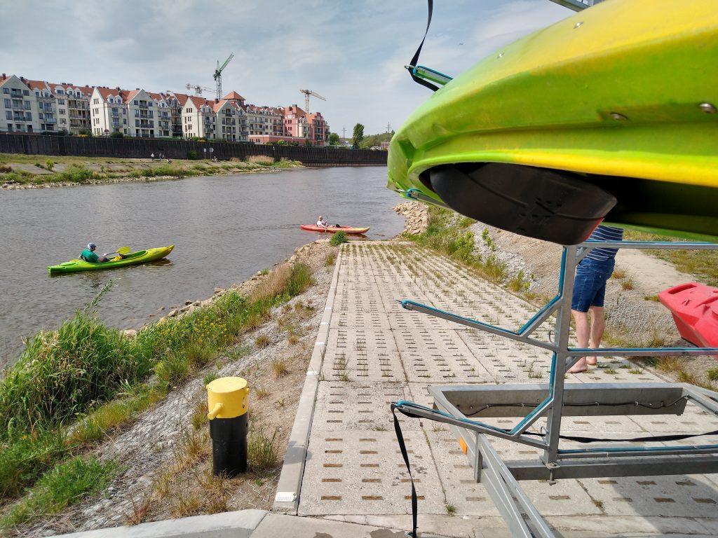Meta spływu w Poznaniu